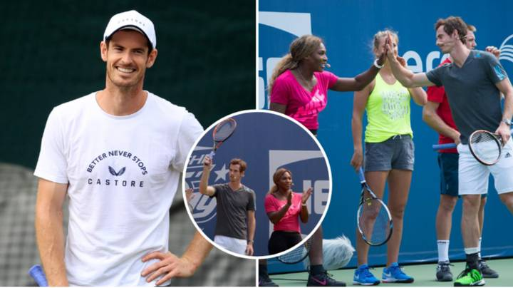 Andy Murray And Serena Williams Will Partner Up For Wimbledon Mixed Doubles