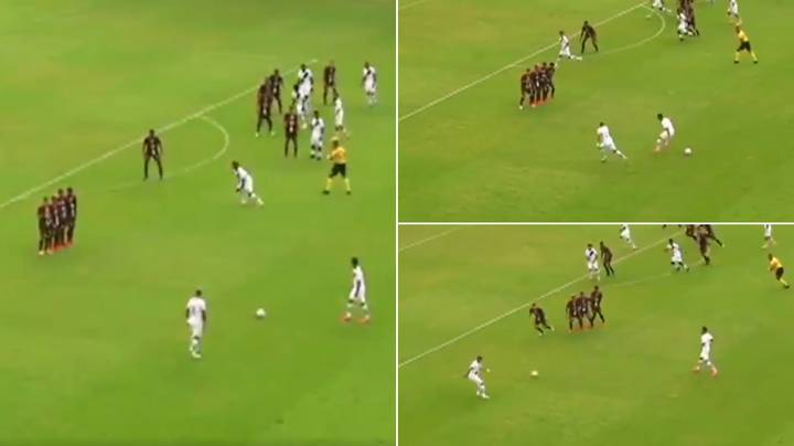 Awful Free-Kick Routine In Brazil Goes Viral - It Is One Of The Worst You'll See