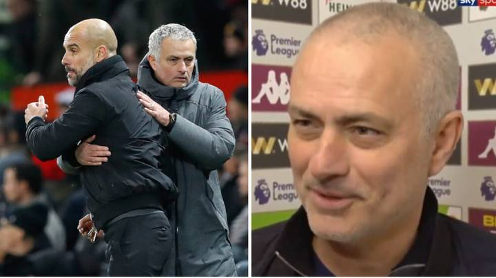 Jose Mourinho's Brilliant Response To Manchester City Potentially Being Deducted Points