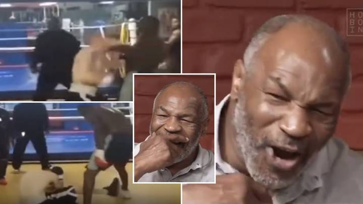 Mike Tyson Watched Deontay Wilder Destroy An Internet Troll For The First Time - His Commentary Is Sensational