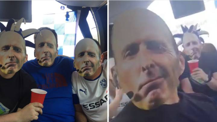 Tranmere Fans To Wear 'Mike Dean Masks' At Wembley For Play-Off Final