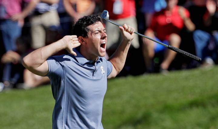 WATCH: Rory McIlroy Holes Monstrous 70ft Putt Then Goes Mental