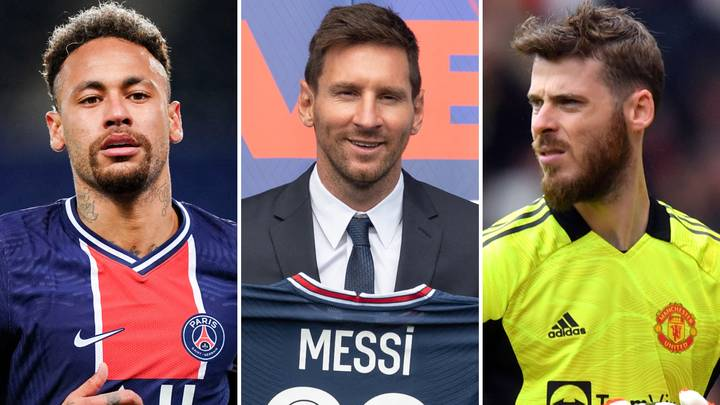 The Top 10 Highest-Paid Footballers In The World In 2021 After Lionel Messi's Move To PSG