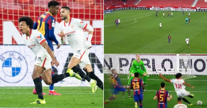 A 22-Year-Old Defender Scores Lionel Messi-Style Goal Against Barcelona