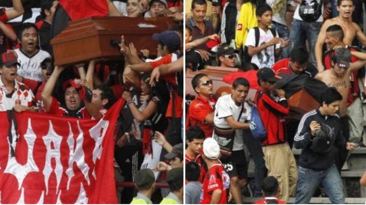 17-Year-old Murder Victim Taken To Match In Coffin By ​Cúcuta Ultras