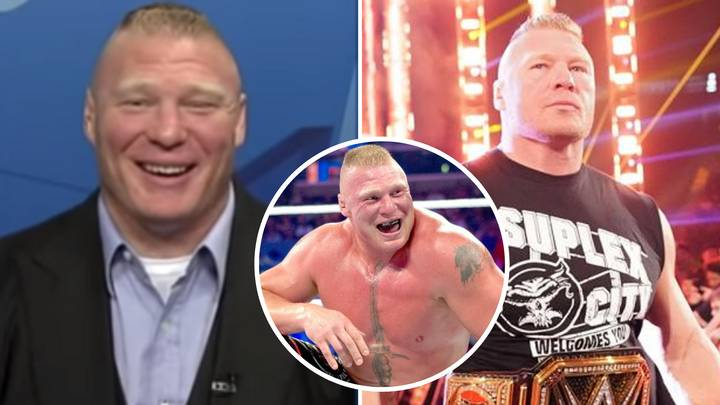 Brock Lesnar Once Got Into A Bar Fight And It Didn't End Well For The Man Attacking Him