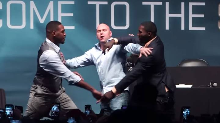 Jon Jones And Anthony Johnson's Fake Fight Prank On Dana White Is Still Hilarious