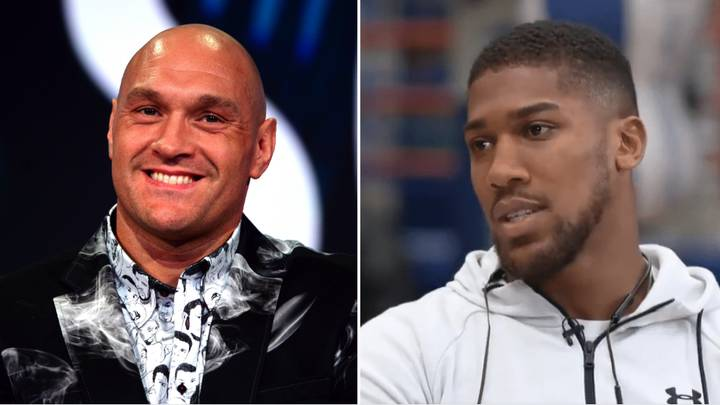 Anthony Joshua Savagely Trolls Tyson Fury For Fighting Otto Wallin