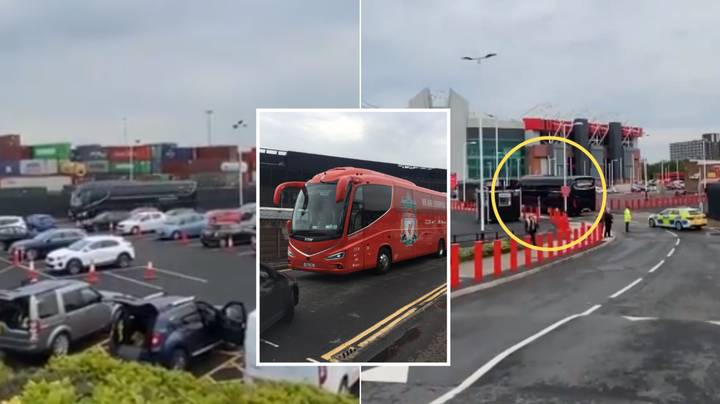Liverpool Used A Decoy Bus To Throw Off Manchester United Fans And Arrive At Old Trafford