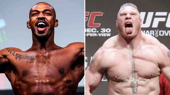 Brock Lesnar Vs Jon Jones: New Odds Reveal One Fighter Goes In As 'Massive Underdog'