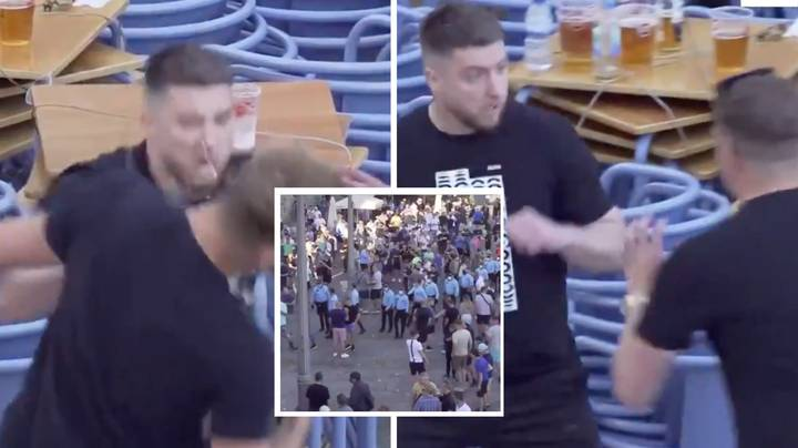 Manchester City And Chelsea Fans Brawl In Porto Ahead Of Champions League Final
