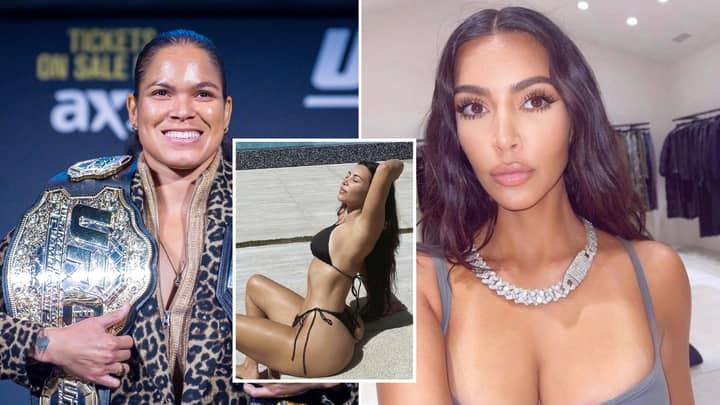 UFC Champion Amanda Nunes Has Called Out Kim Kardashian For A Fight