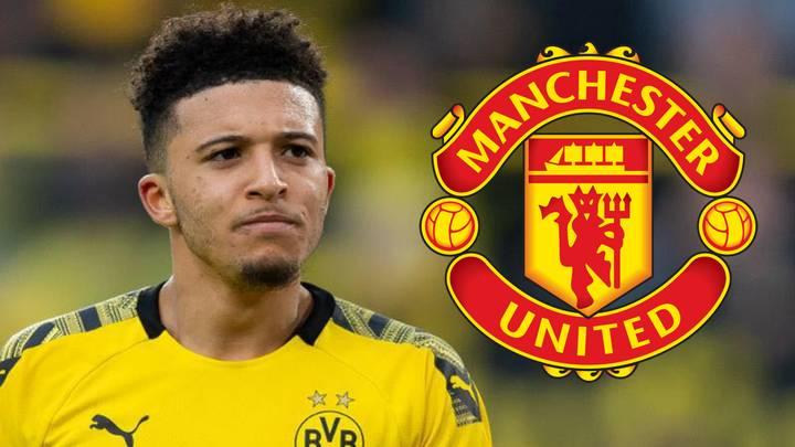 Jadon Sancho's Head Is 'Already At Manchester United' As Move Edges Closer
