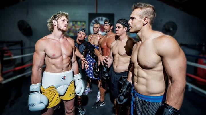 Logan Paul Releases Footage Of Him Sparring 4 Different Opponents At Once