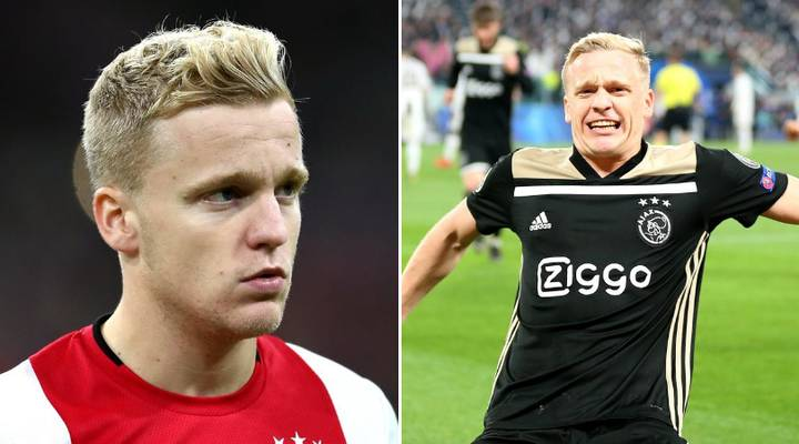 Donny Van De Beek Reveals He is Joining Manchester United To Ajax Teammates