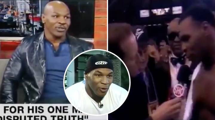 Mike Tyson Twitter Thread Shows Him At His Most Savage Moments During Interviews