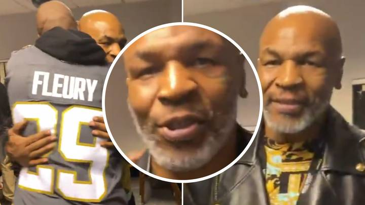 Mike Tyson Makes Cameraman 'S**t Himself' Before Tyson Fury Vs Deontay Wilder