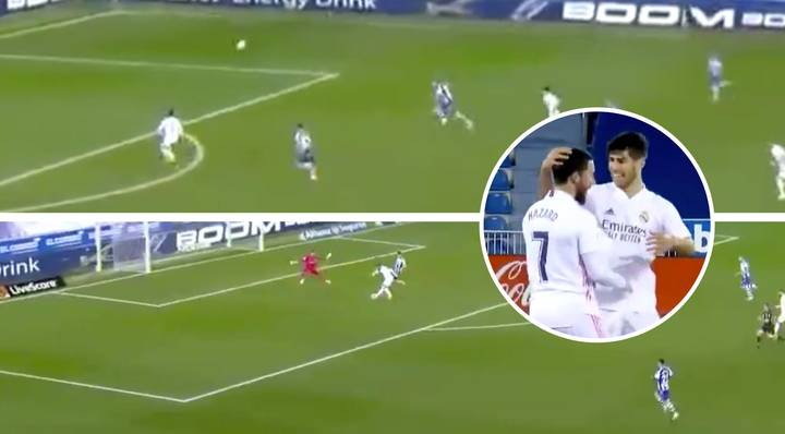 Eden Hazard Produces First-Half Masterclass With Goal And Assist For Real Madrid