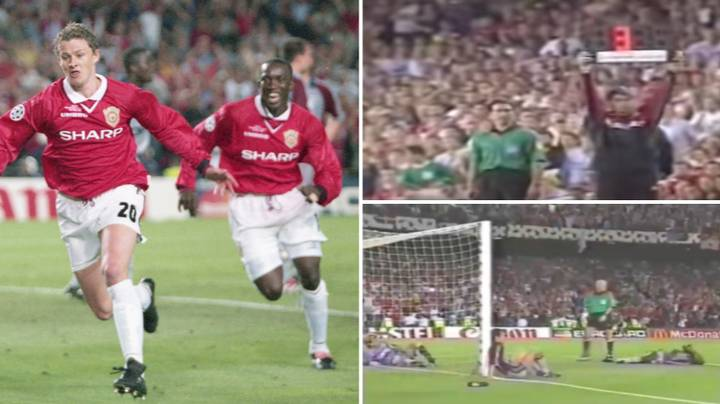 Rare Pitchside Footage Captures Last Three Minutes Of The 1999 Champions League Final
