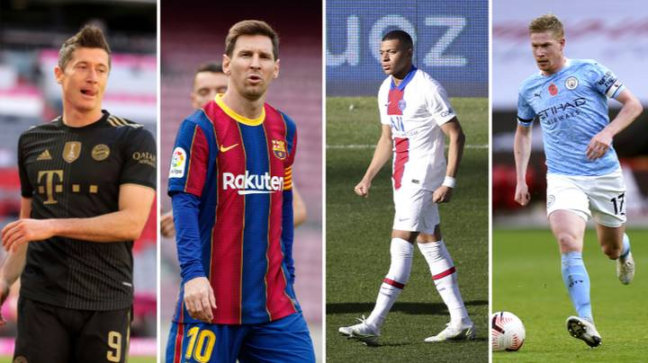 European Top Five League Team Of The Season By Stats Revealed