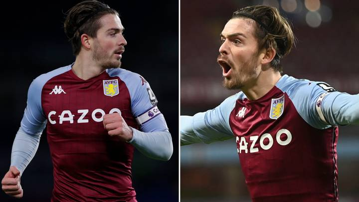 Incredible Stats Show Jack Grealish Is The Premier League's Best Winger This Season