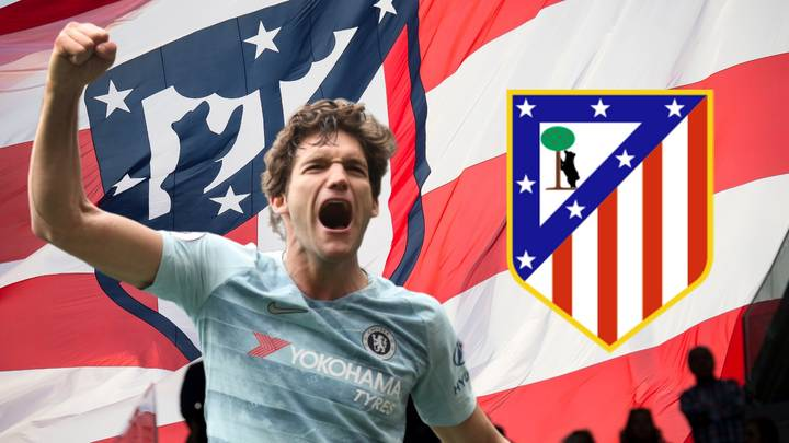 Chelsea Star Marcos Alonso Has 'Agreed' To Join Atlético Madrid This Summer