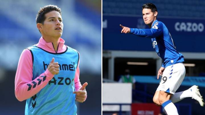 James Rodriguez Didn't Cost Everton A Single Penny