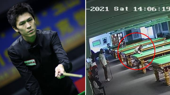 Snooker Player Produces First Ever 155 Break Caught On Camera