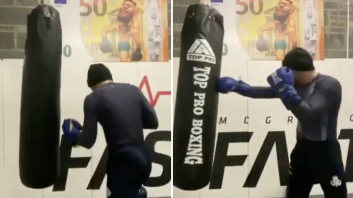 Conor McGregor Posts New Training Footage And Fans Are Absolutely Baffled By It