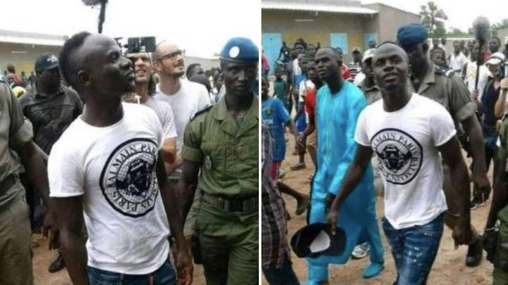 Sadio Mane Returns To Village In Senegal To Check On £200,000 School He's Financing