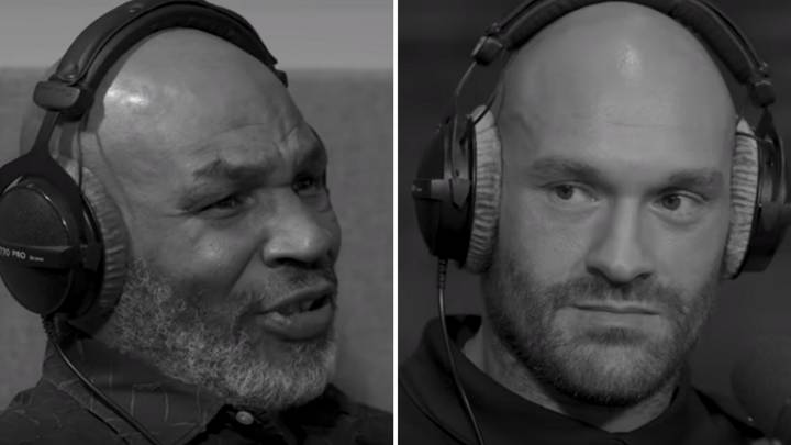 Mike Tyson Telling Tyson Fury About Turning His Life Around Is Inspiring