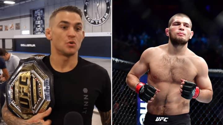 Dustin Poirier Gives Bold Prediction For UFC Title Fight Against Khabib Nurmagomedov