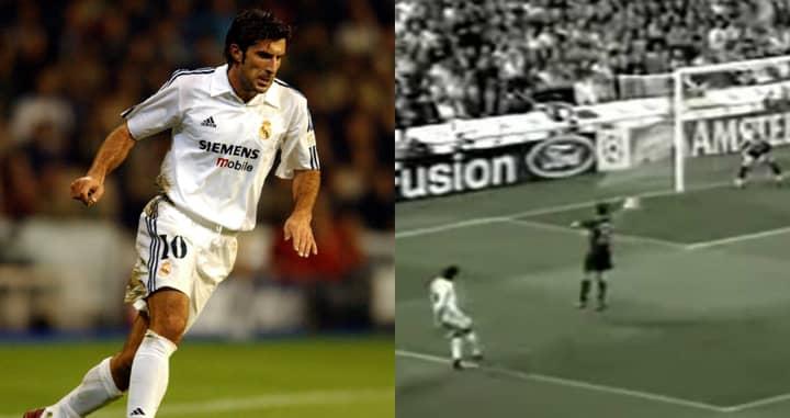 Goal Of The Day: Luis Figo Catches Fabian Barthez Off-Guard