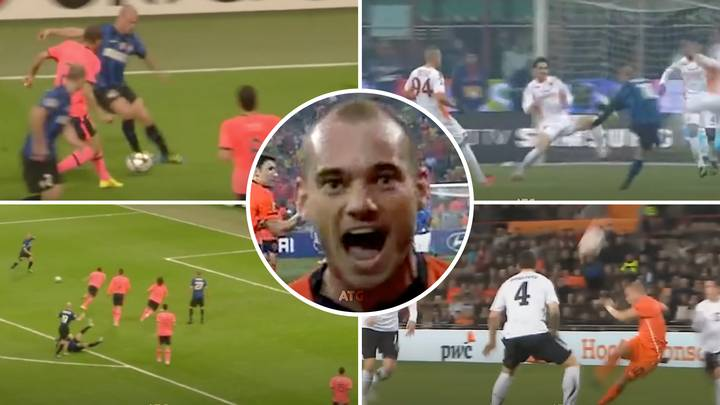 Compilation Emerges Of How A World-Class Wesley Sneijder Was 'Robbed Of The Ballon d'Or'