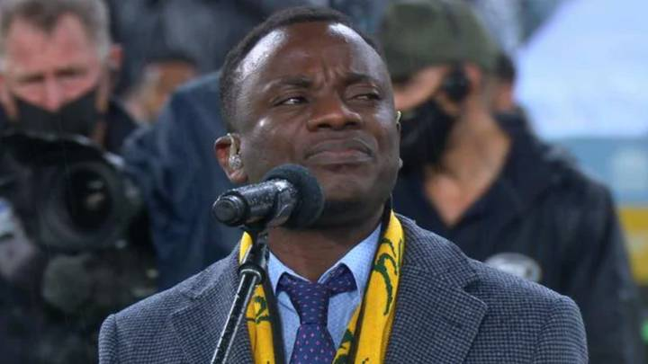Burundian Refugee's Tear-Jerking Rendition Of The Australian National Anthem Ahead Of The Bledisloe Cup