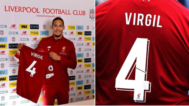 The Real Reason Why Virgil van Dijk Only Uses His First Name On The Back Of His Liverpool Shirt