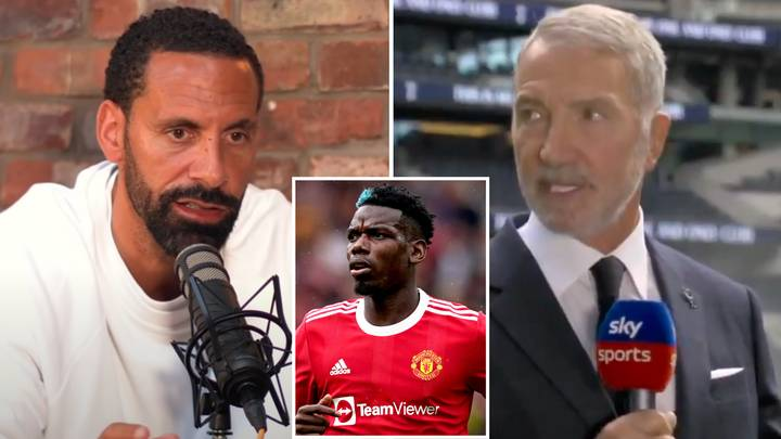 Rio Ferdinand Calls Out Graeme Souness For Not Praising Paul Pogba After Four Assists Vs Leeds United