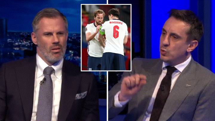 Gary Neville Says Harry Maguire Would Be A Bigger Loss To England Than Harry Kane