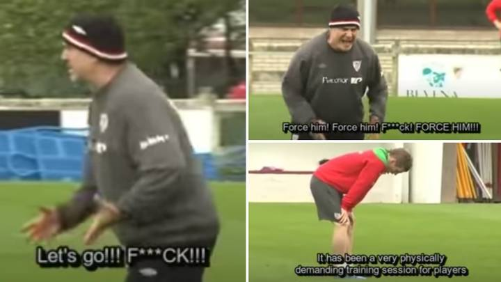 Footage Shows The Frightening Intensity Of Marcelo Bielsa's Training Sessions