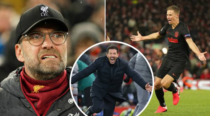 Atletico Madrid Knock Liverpool Out Of The Champions League