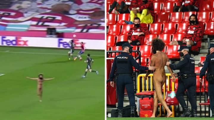 Streaker From Manchester United Vs Granada Game Hid In The Stadium Pre Kick Off
