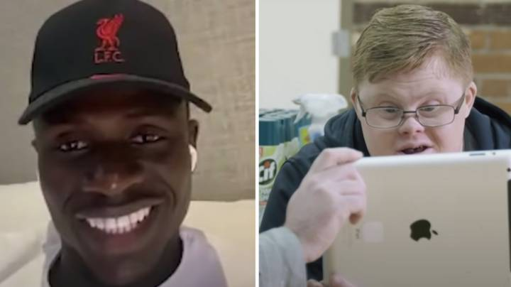 Sadio Mane Surprises Liverpool Super-Fan In Emotional Video