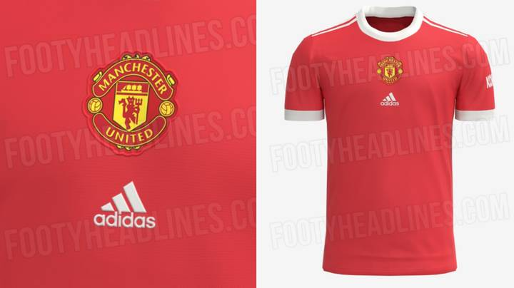 Manchester United's 2021/22 Home Kit Leaked Online