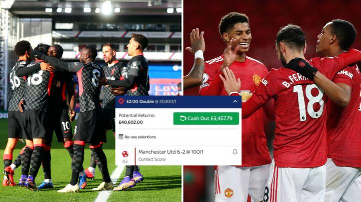 Punter Cashes Out On Incredible Manchester United And Liverpool Double