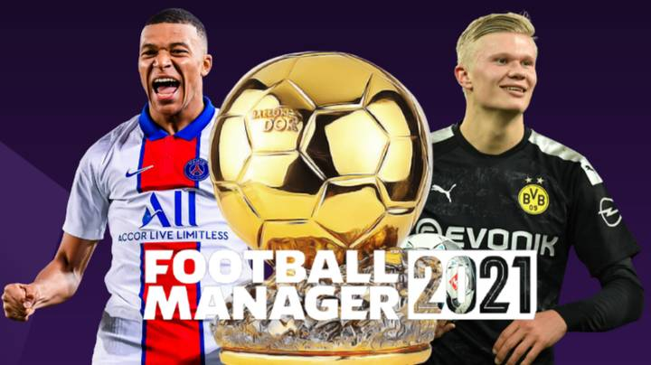Football Manager 2021 Predicts The Kylian Mbappe And Erling Haaland Rivalry For The Next 10 Years