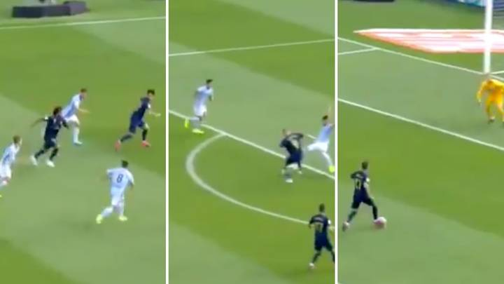 Real Madrid Scored A Sublime Team-Based Goal Against Celta Vigo