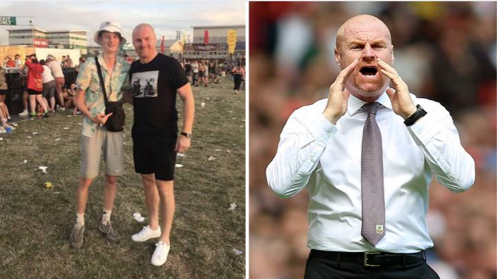 Burnley Manager Sean Dyche Spotted Partying At Reading Festival Ahead Of Wolves Game