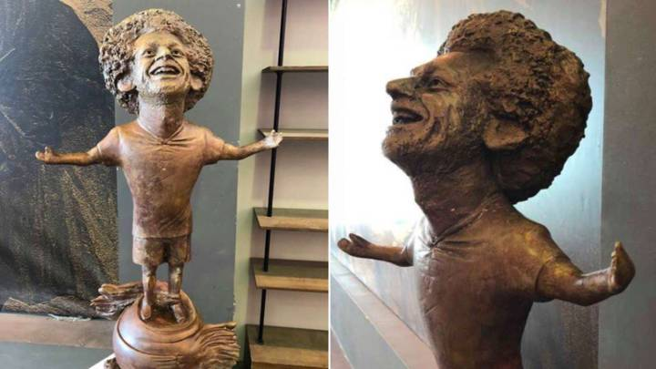 Mo Salah Immortalised With Statue That Looks Nothing Like Him