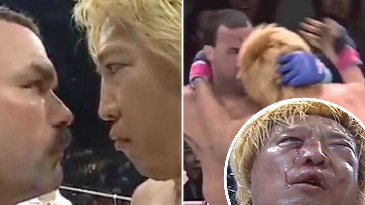 When Don Frye And Yoshihiro Takayama Fought In 'Manliest MMA Fight Ever'
