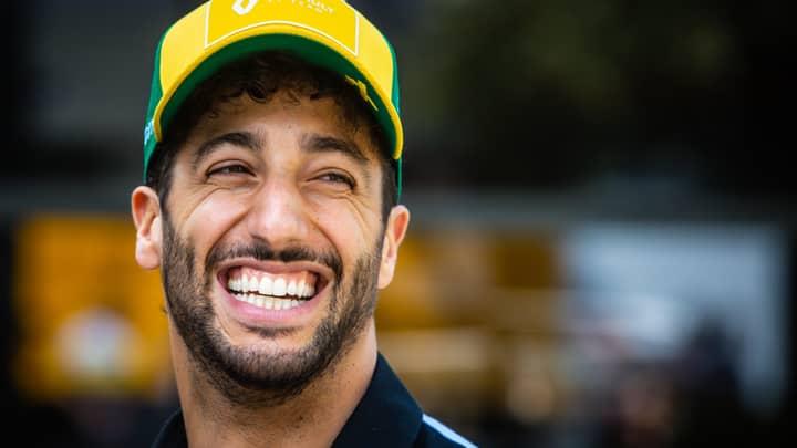 "Aussie Daniel Ricciardo Heard Saying ""I F***ing Sent That"" After Rapid F1 Lap"